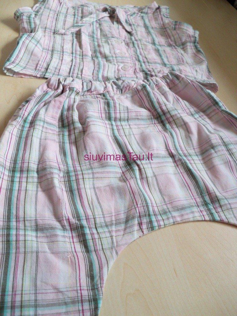 Komplektukas - palaidine ir harem stiliaus kelnes (3)
