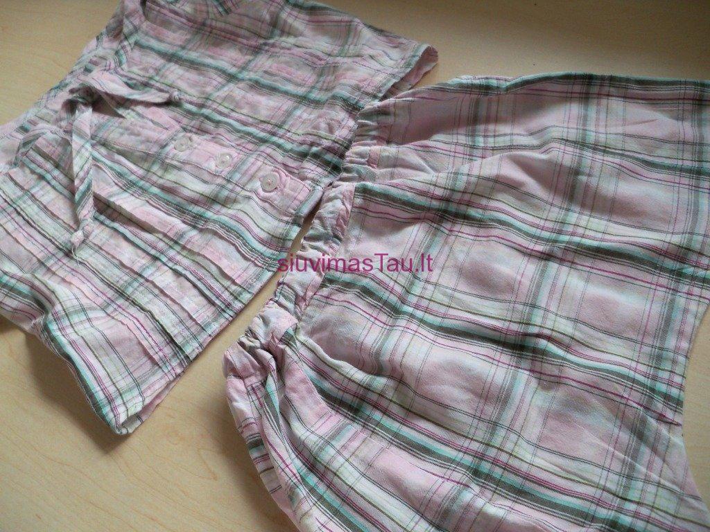 Komplektukas - palaidine ir harem stiliaus kelnes (5)